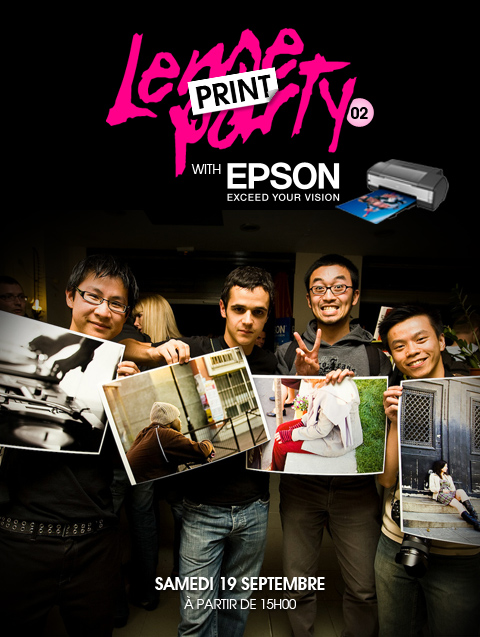 Lense Print Party (02) with Epson