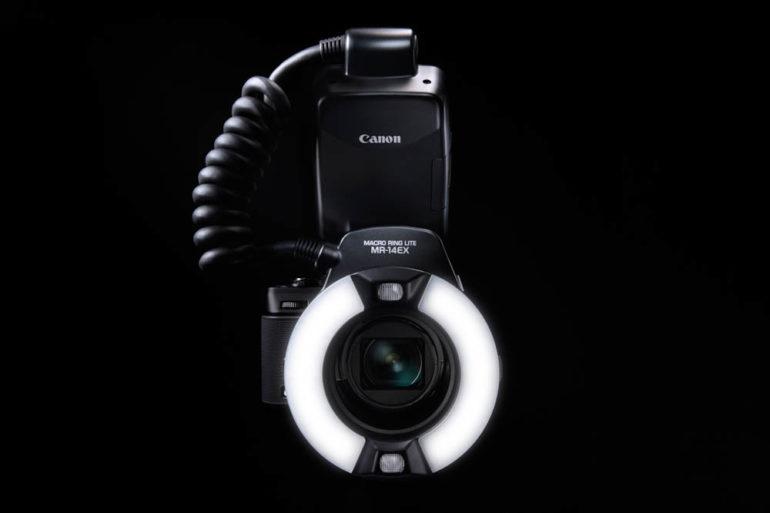 PowerShot G1 X Gallery 25 macro-light adaptor
