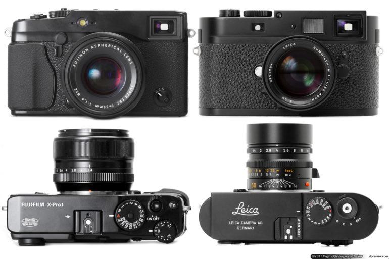Comparaison Fuji X-Pro 1 - Leica M8