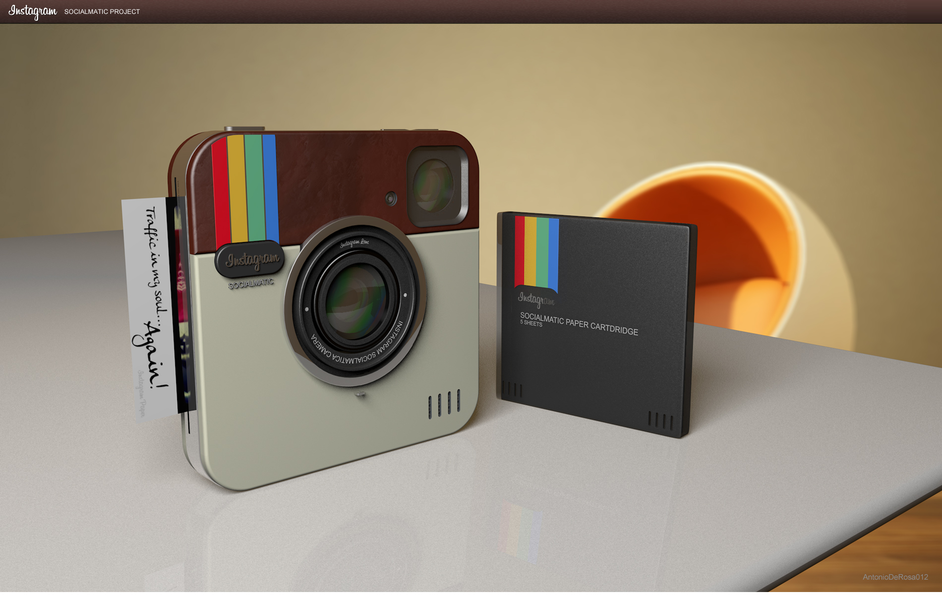 Instagram Socialmatic Camera   un concept de « vrai » appareil Instagram 1b15098cde32