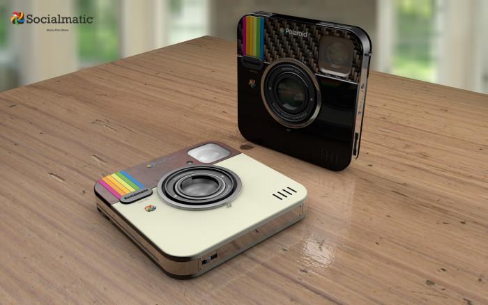 Si beaucoup ont vite conclu au vrai retour de Polaroid avec le vrai  héritier de leurs instantanés (Android + Imprimante intégrée), nous y  voyons surtout une ... a683cb515403