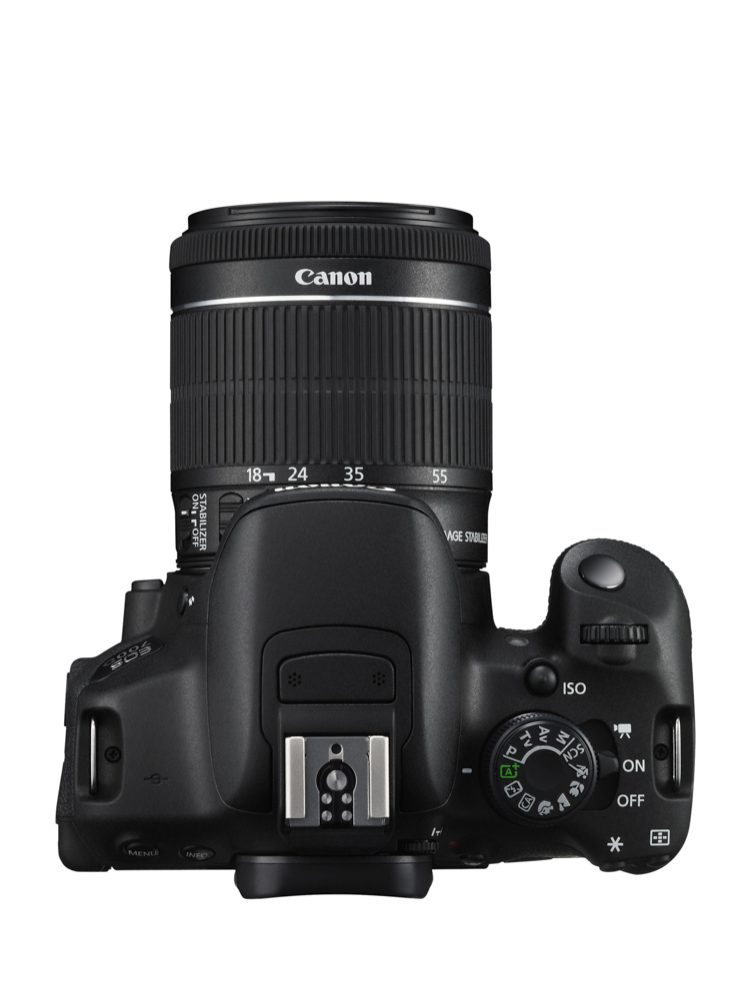 EOS 700D TOP w EF-S 18-55mm IS STM