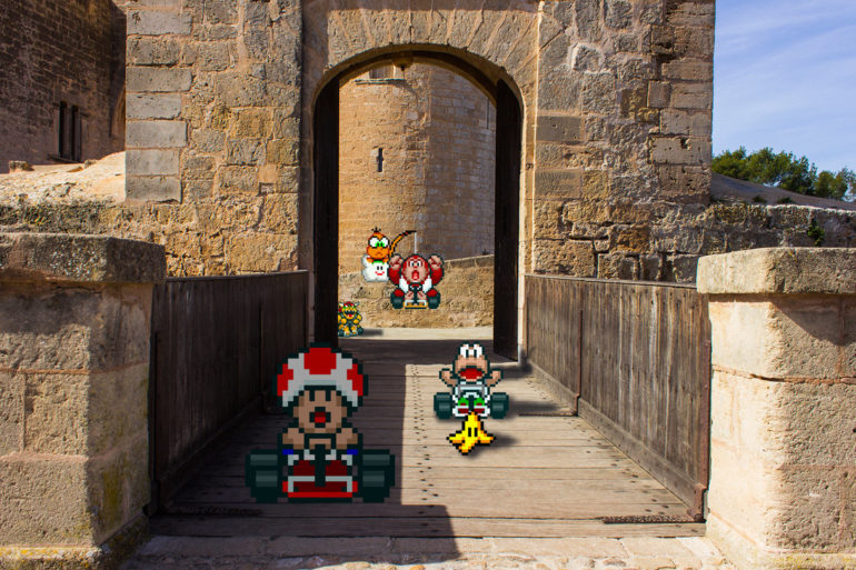 real_bits___super_mario_kart__castle_circuit_by_victorsauron-d5x99os.jpg