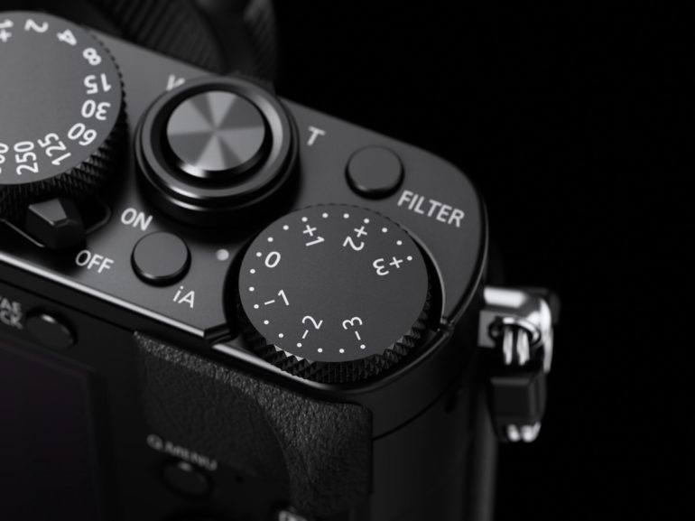 LUMIX LX100 Black Exposure Dial