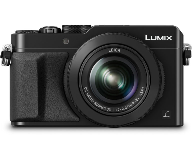 LUMIX LX100 Black Front