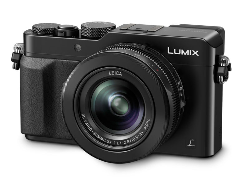 LUMIX LX100 Black Slanted