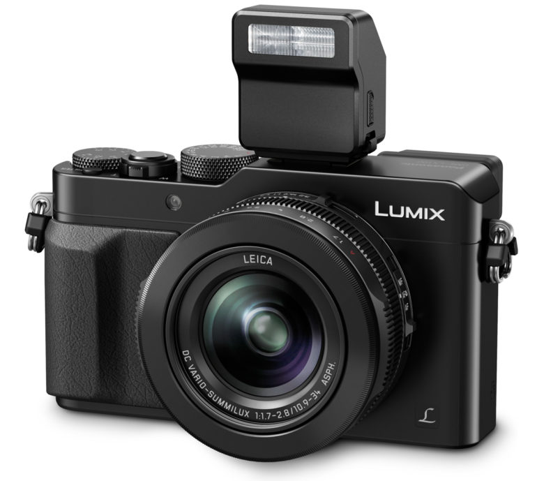 LUMIX LX100 Black with FL70 Flash