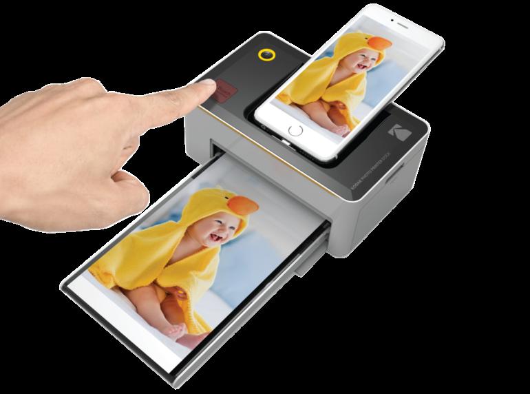 imprimante-kodak-dock-bureau-smartphone-et-apn