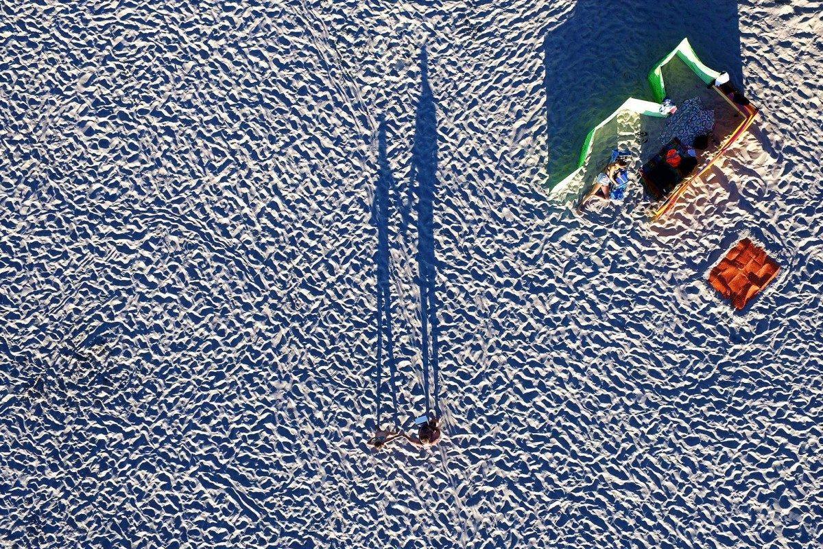 Miedzyzdroje plaża, Poland - © Drone Expert