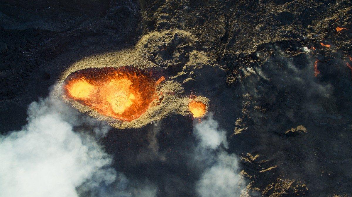 Piton de la Fournaise Volcano - © DroneCopters