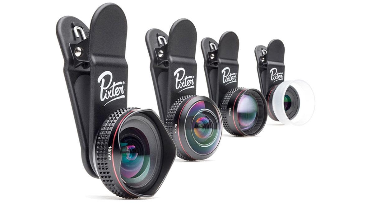 pixter lance sa gamme pro lense. Black Bedroom Furniture Sets. Home Design Ideas