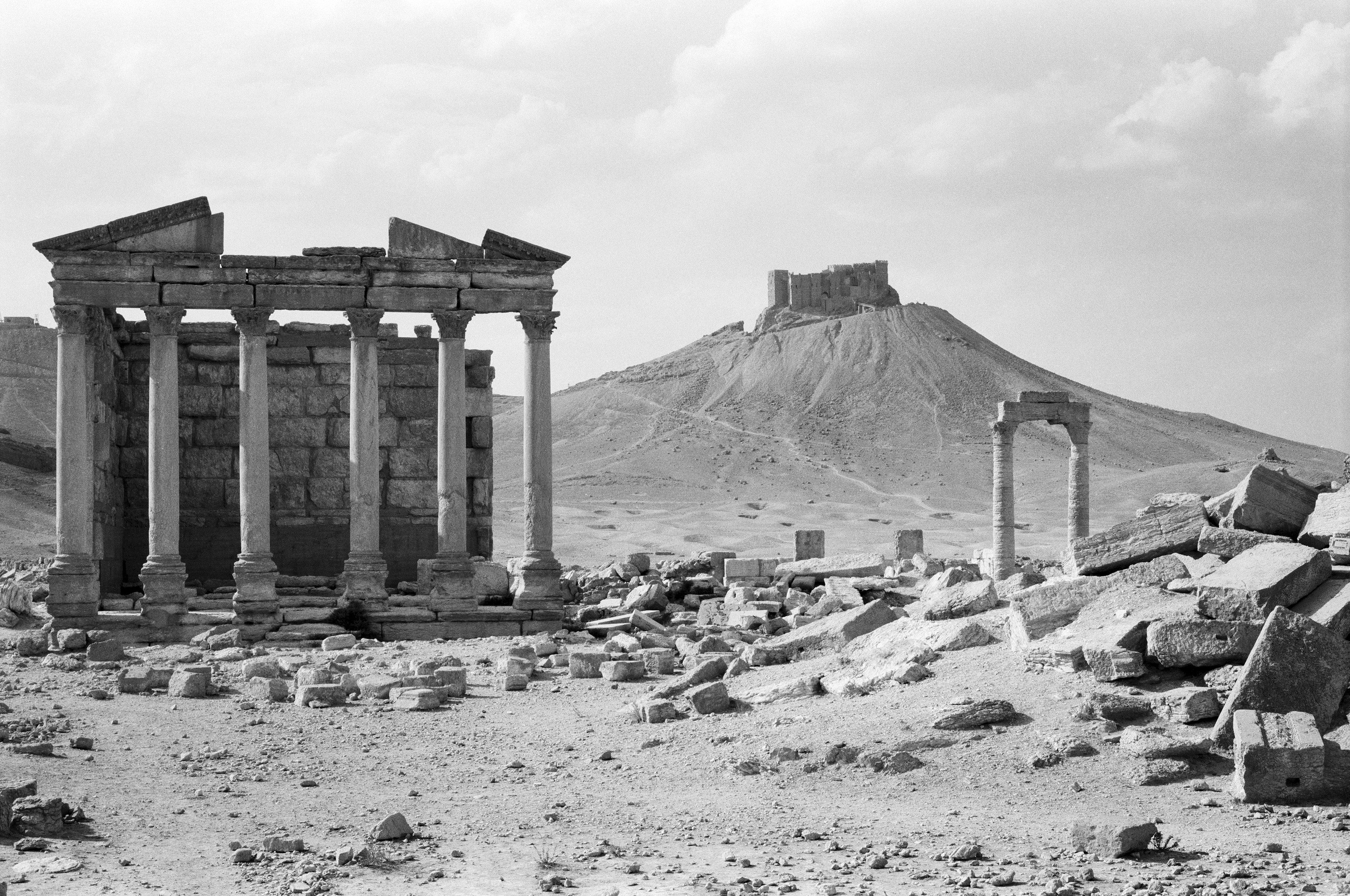 2.Palmyre temple funeraire - Michel Eisenlohr