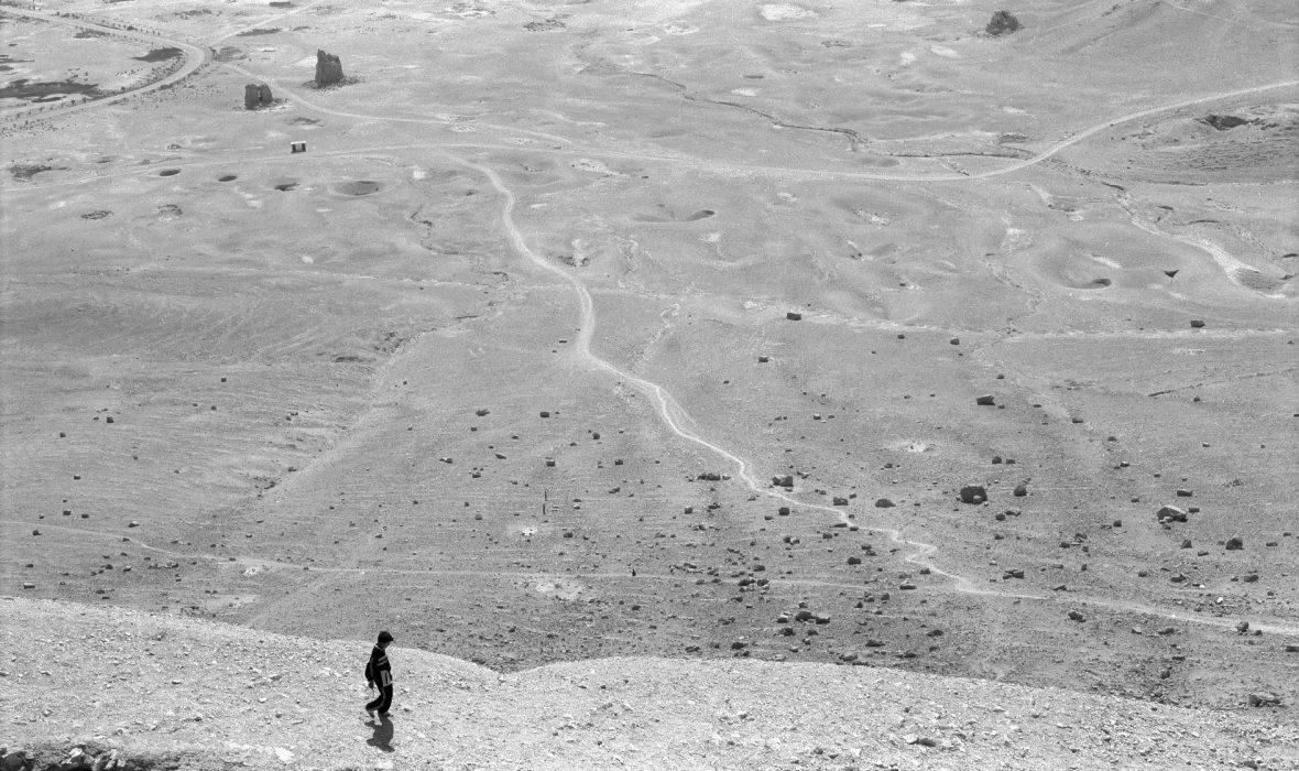 4.Palmyre vue sur la vallee des tombeaux - Michel Eisenlohr