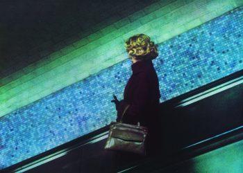Dolorès Marat, La Femme au sac à main, 1987