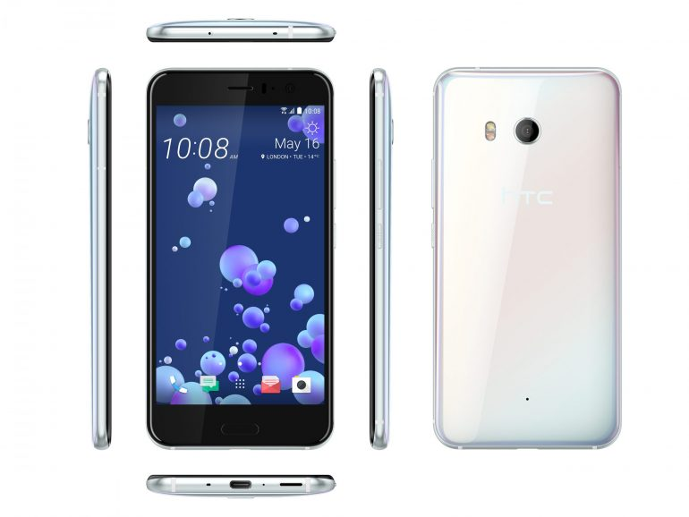 HTC U11_6V_Blanc Perle
