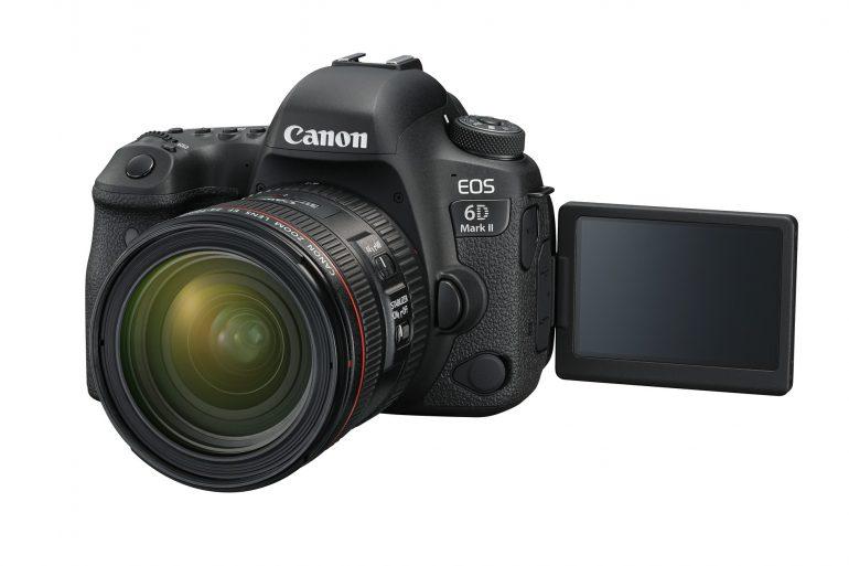 6DMKII Left LCD Open EF24-70mm F4L USM FSL