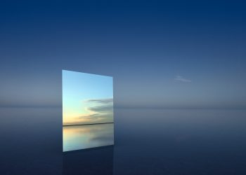 Mirror 6, 2017 © Murray Fredericks, Courtesy of Hamiltons Gallery, London