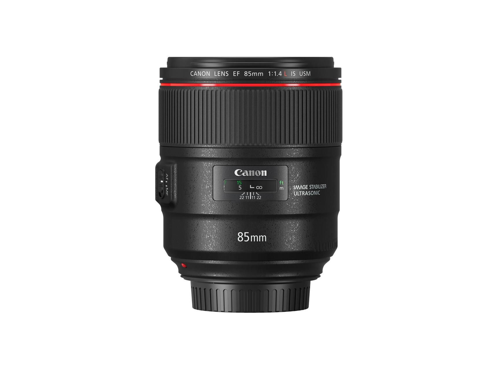 nouveau canon 85 mm f 1 4 le portrait stabilis lense. Black Bedroom Furniture Sets. Home Design Ideas