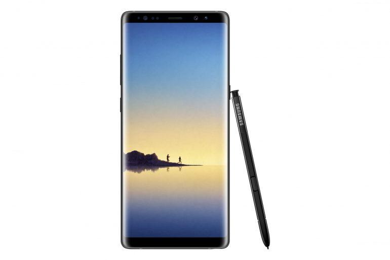 SM_N950F_GalaxyNote8_Front_Pen_Black_SEF