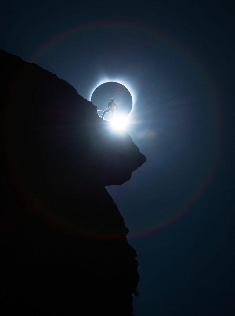 Smith Rock Goal Zero eclipse shoot