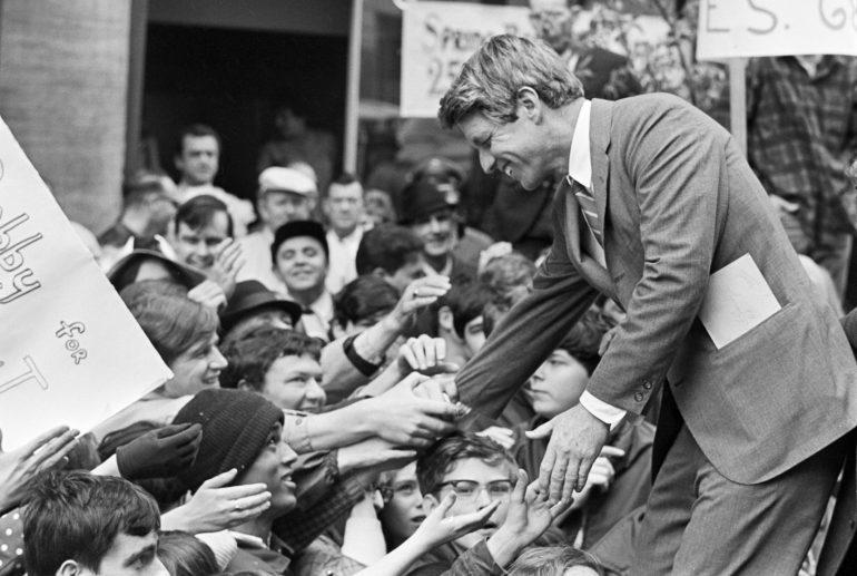 ELECTION PRESIDENTIELLE AMERICAINE DE 1968, CAMPAGNE DE ROBERT FRANCIS KENNEDY