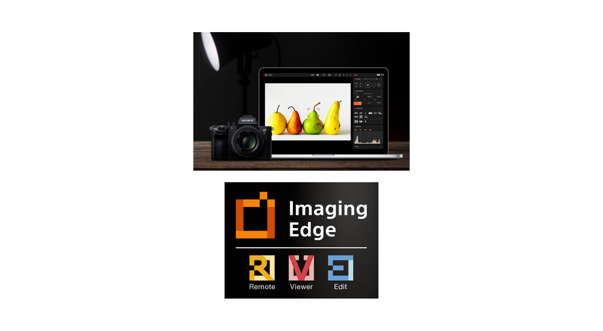 Sony Imaging Edge : la suite logicielle photo gratuite de Sony