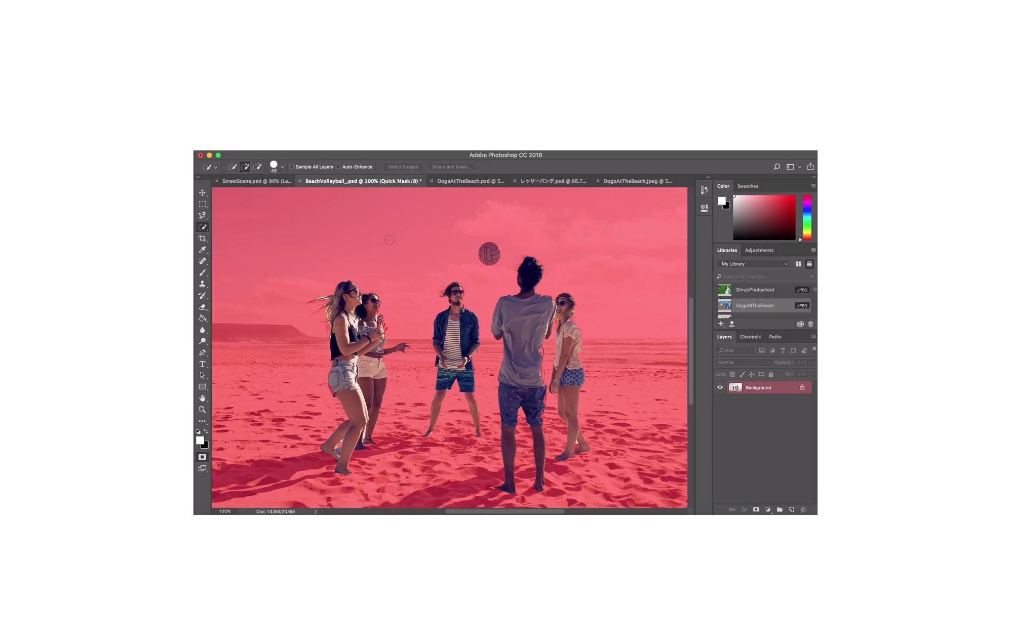 Photoshop 19.1 : le détourage « en un clic » devient réalité