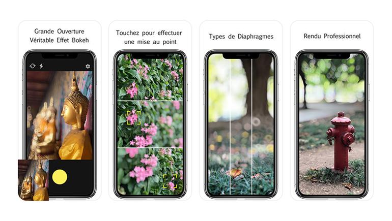 Application Iphone Photo Flou Arriere Plan