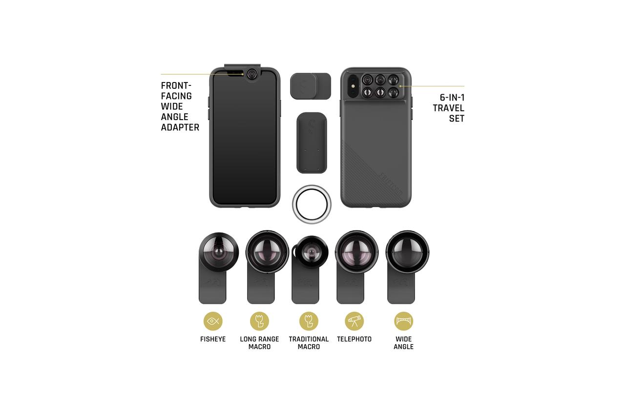 Shiftcam 2.0 : une coque pour ajouter 12 optiques à votre iPhone