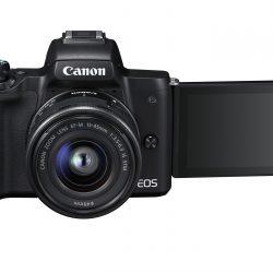11-Canon EOS M50 BK EF-M15-45 STM LCD Out FRA