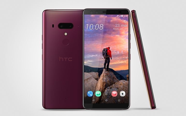 HTC U12+ FlameRed_FR