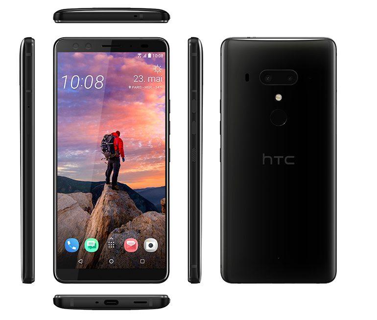 HTC U12 +TitaniumBlack_FR