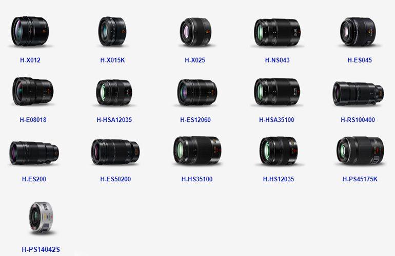 Lumix-pro-optiques