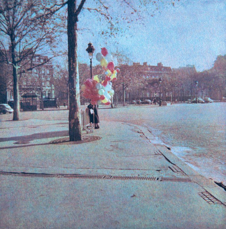 Place-de-l'Etoile,-Paris-8e,-1954.-©-Bernard-Plossu