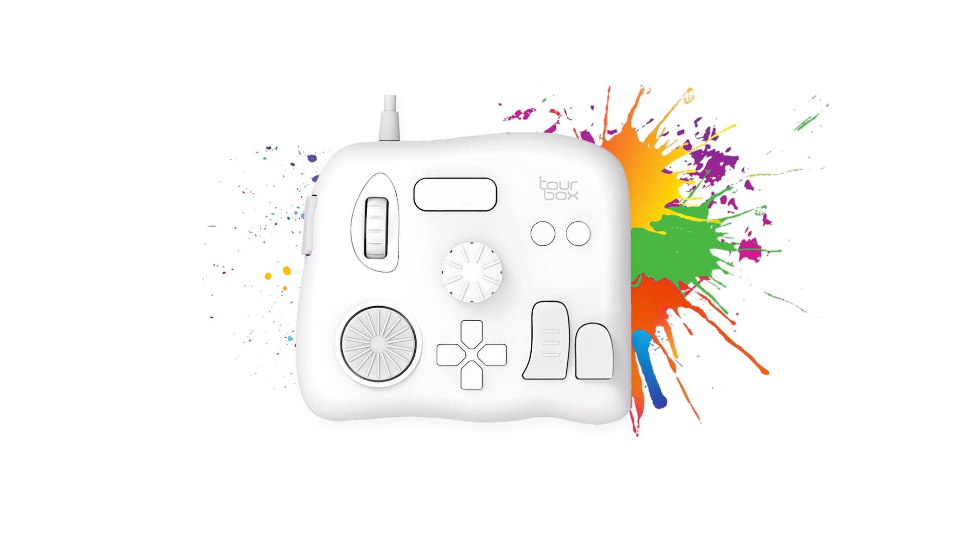 TourBox : une mini-console d'édition pour Lightroom et Photoshop