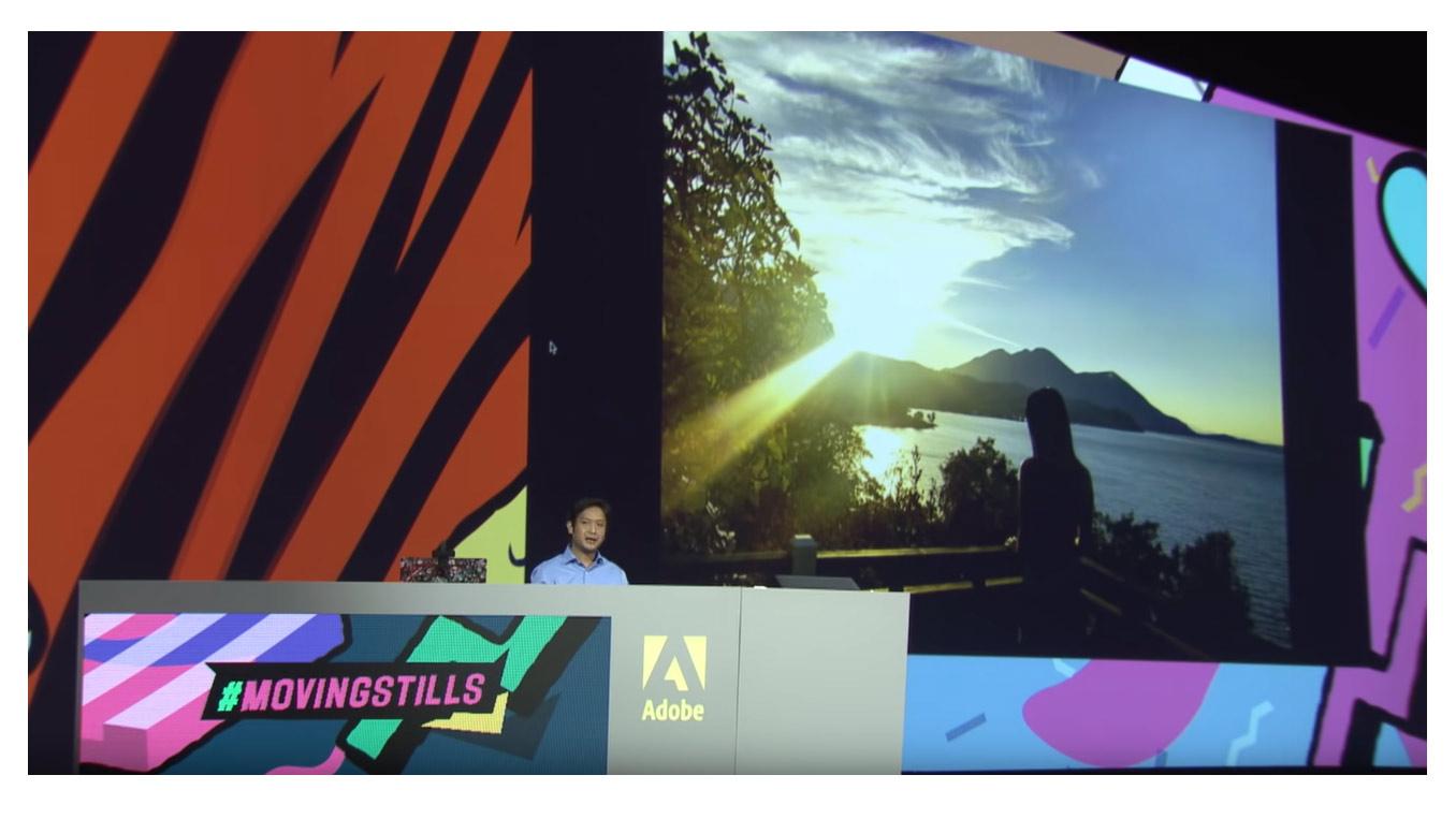 Adobe MovingStills : animer vos photos en 3D d'un clic