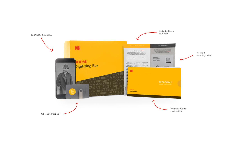 Kodak facilite la numérisation avec la Digitizing Box