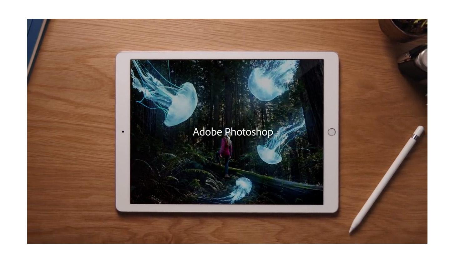 Photoshop arrive sur iPad, en version complète