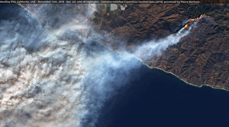 Woolsey Fire-nasa