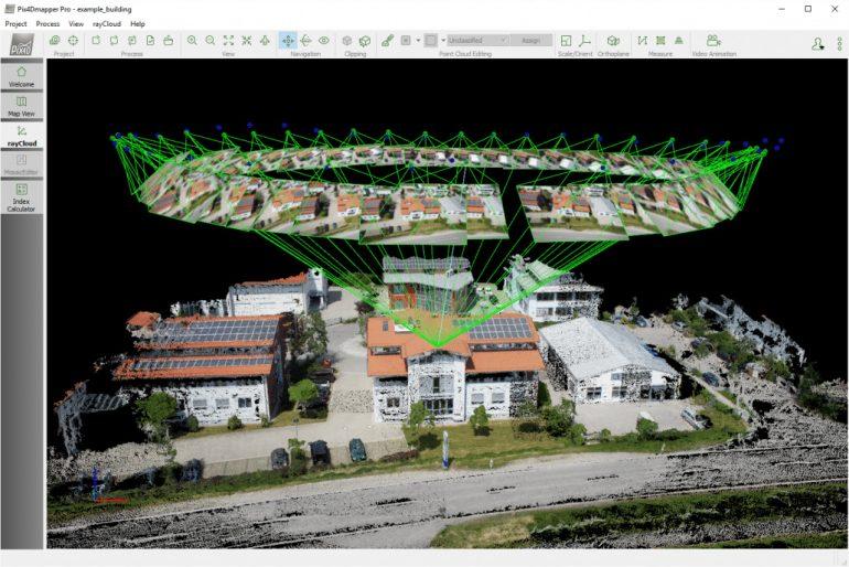 photogrammétrie-3D-Pix4D