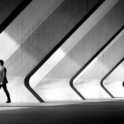 Walking in diagonal