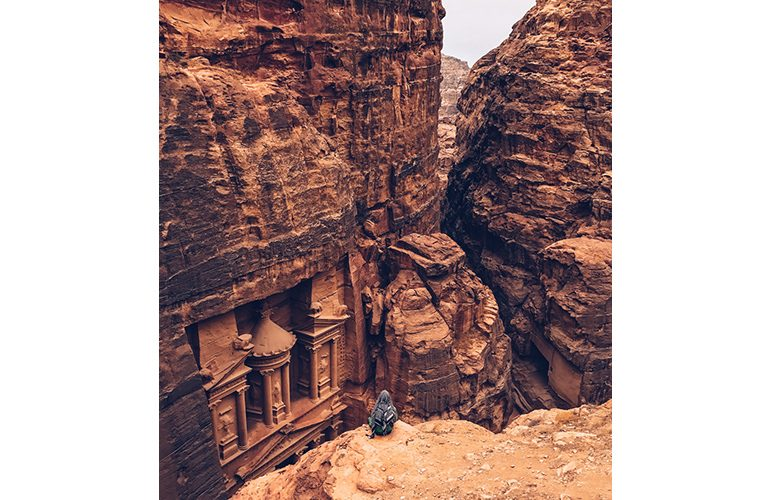 Shot-on-iPhone-Challenge-Announcement-Woman-in-front-of-Petra_2