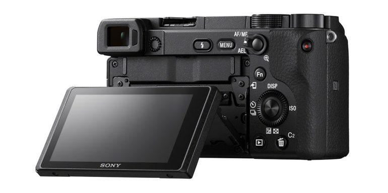 Sony a6400 - back