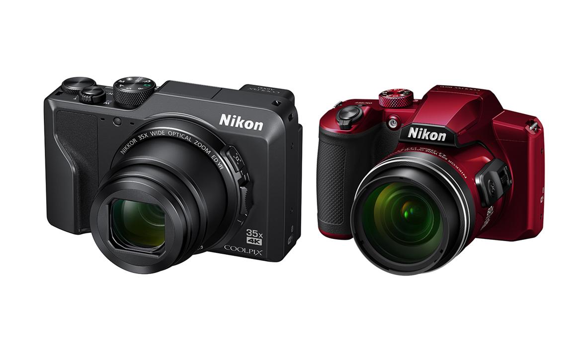 Nikon A1000 et B600 : un compact et un bridge super-zoom
