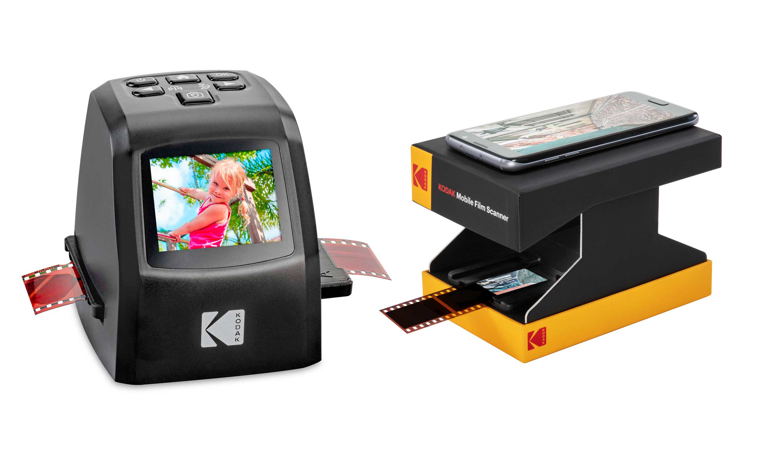 Kodak commercialise ses mini-scanners pour films et diapositives