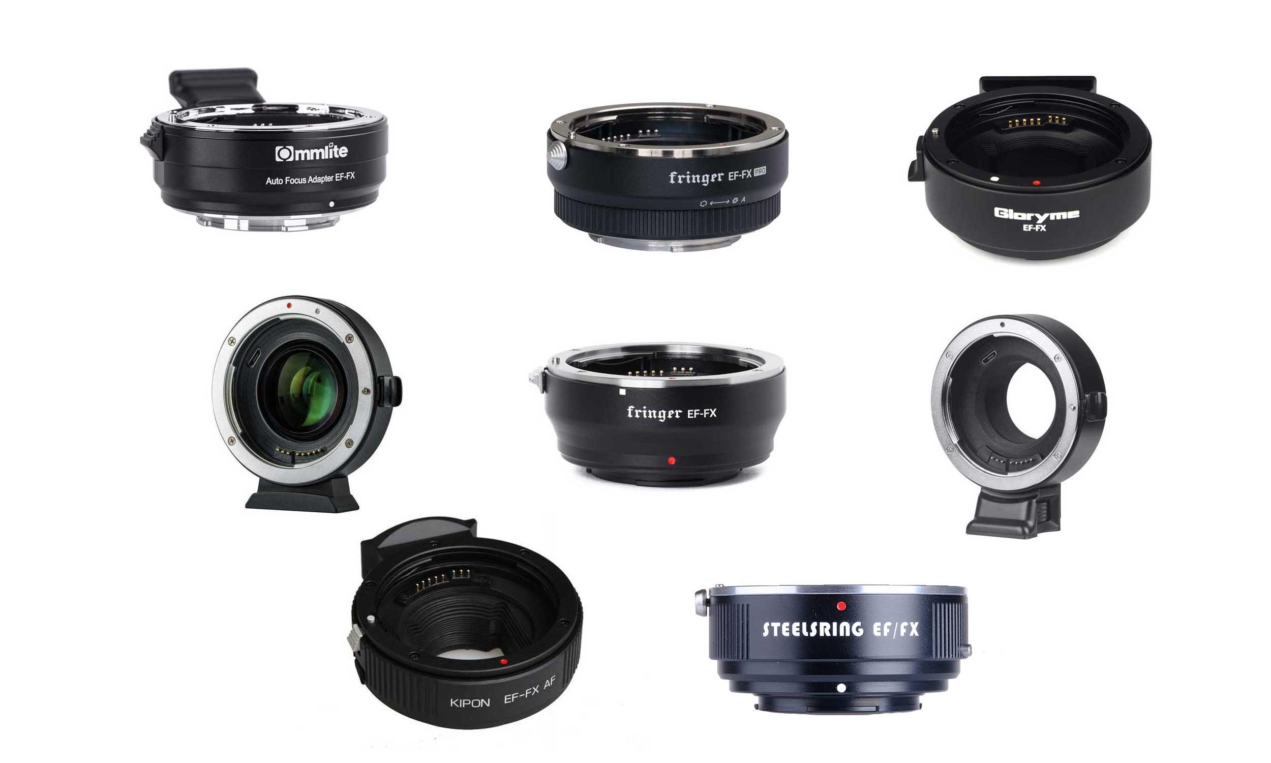 Optiques Canon sur boîtier Fuji X : quelle bague d'adaptation ?