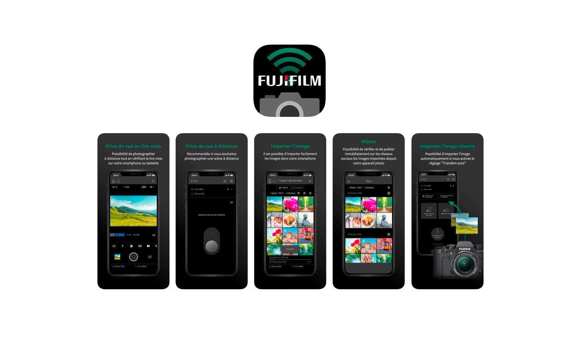 Fujifilm Camera remote passe en version 4.0