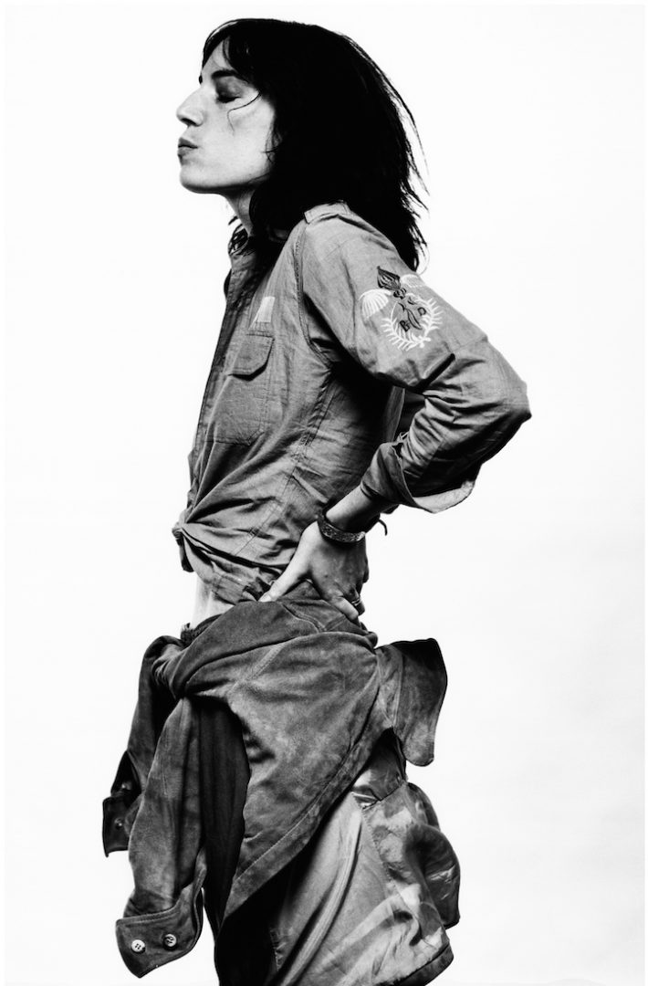 Patti Smith at photo shoot, Amsterdam, music