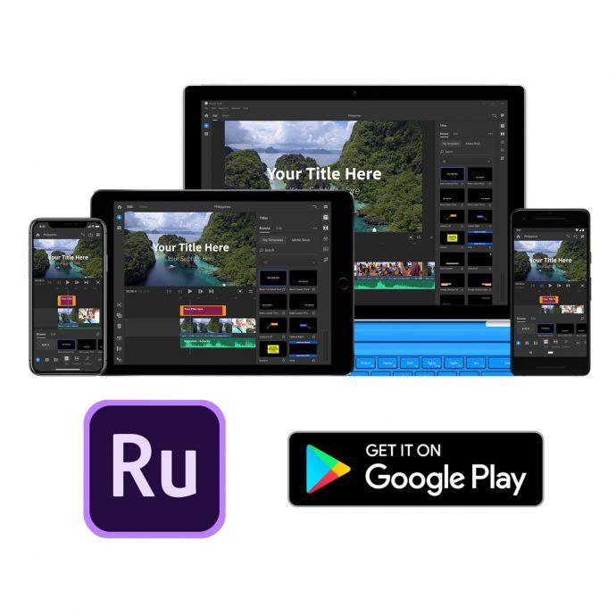 Adobe Premiere Rush désormais disponible sur Android | Lense