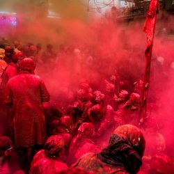 Holi-Poudre rouge